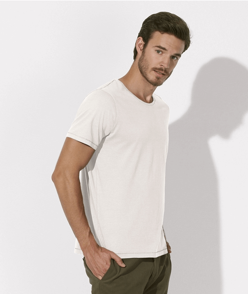 t-shirts-uni-col-rond