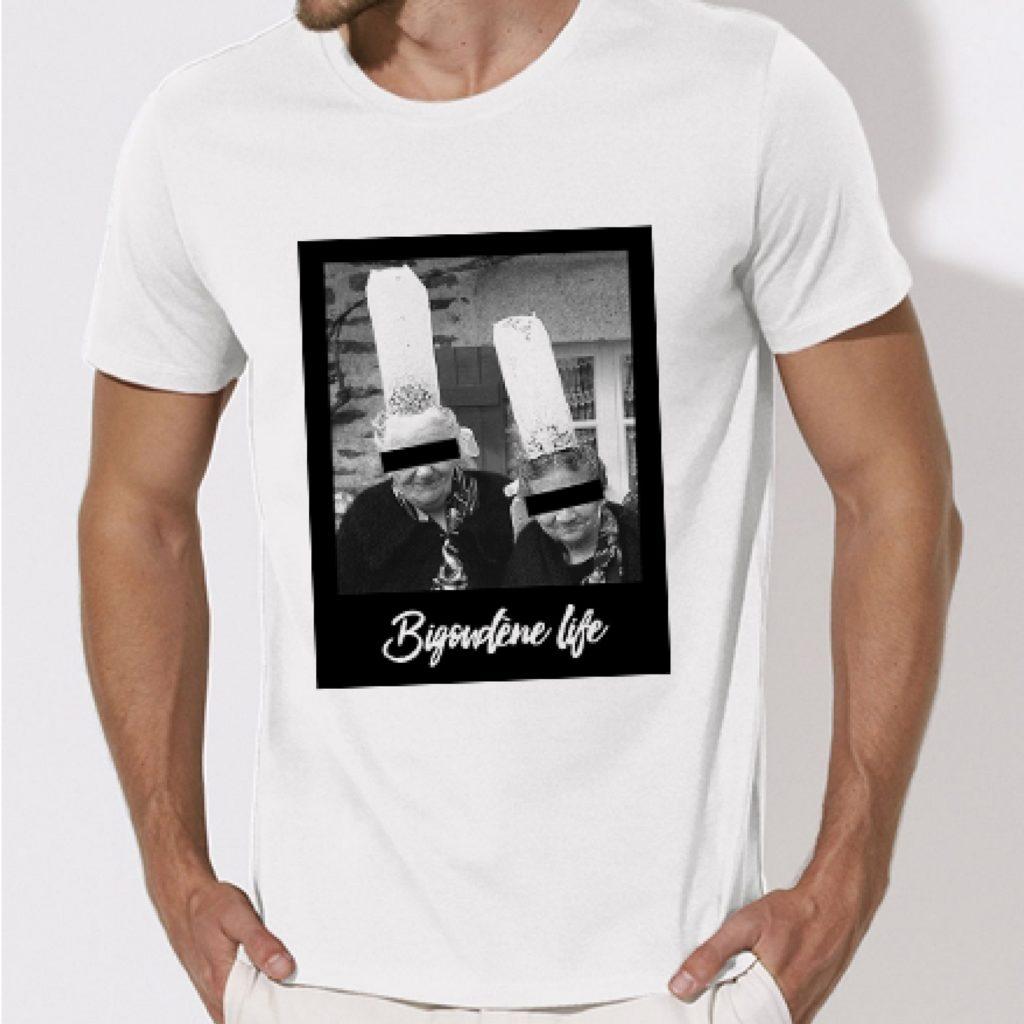 T shirt bigoudene life
