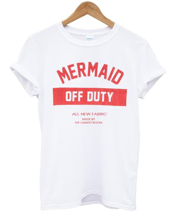 T shirt mermaid of duty