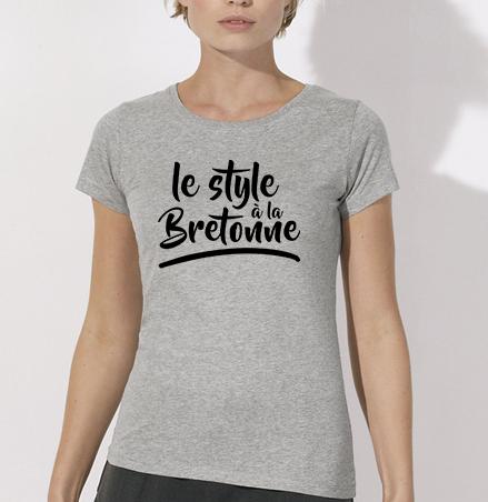 T shirt style à la bretonne