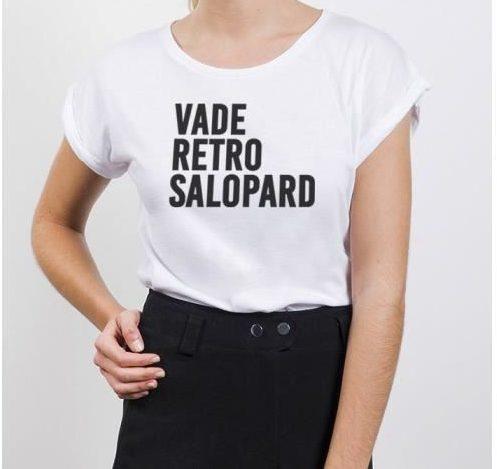 t shirt vade retro salopard