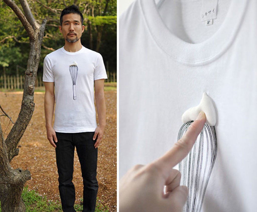 t-shirt interactifs