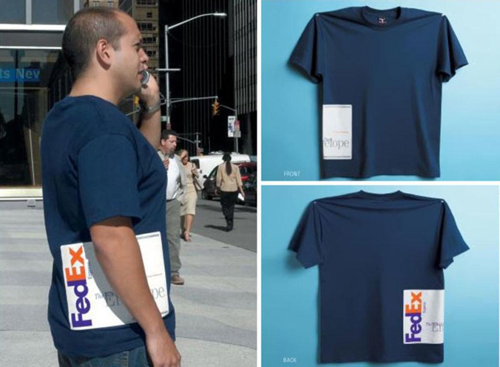 t-shirt trompe l'oeil